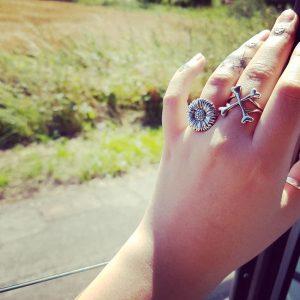 sunflower ring