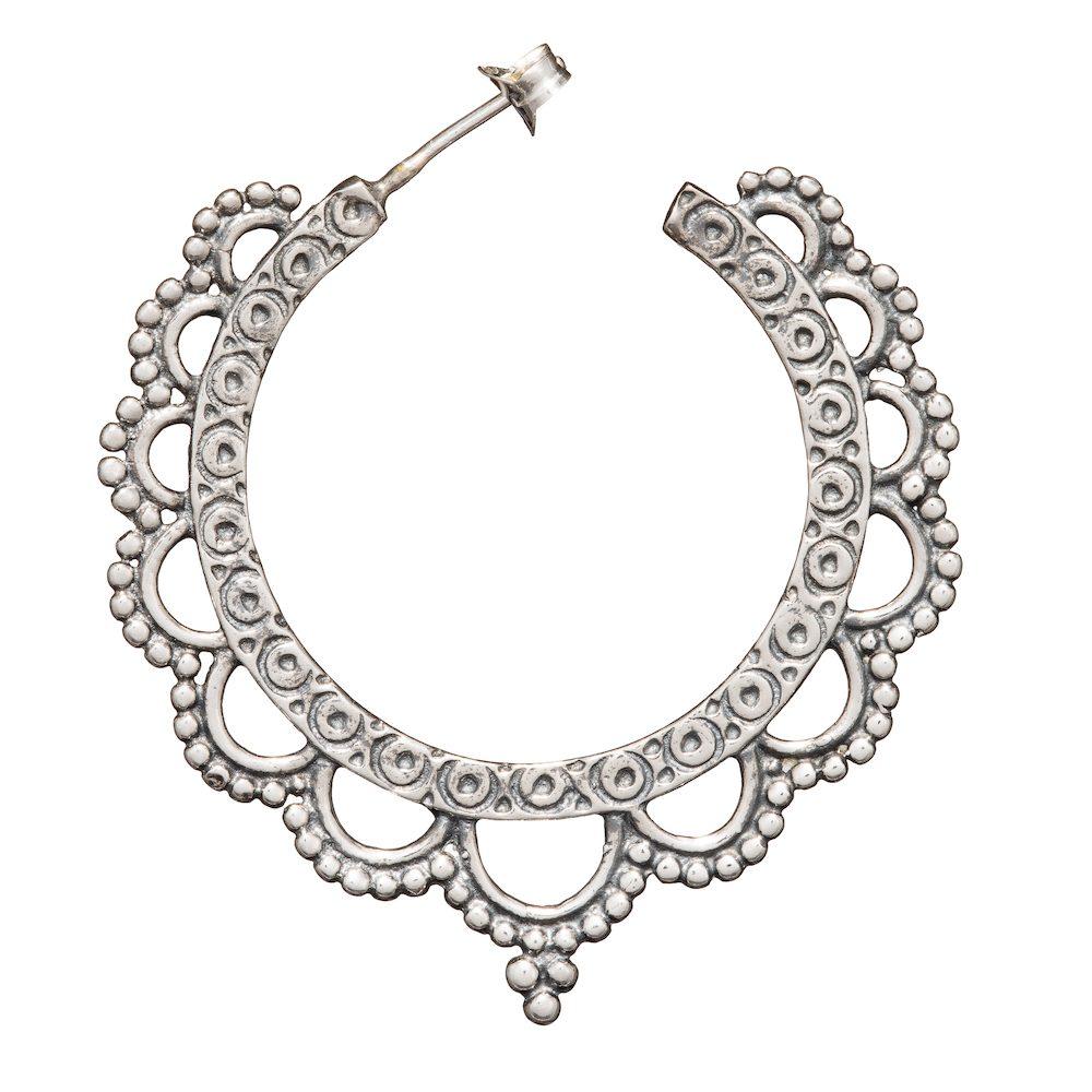 de8bc8530 India Rose Earrings - Bloody Mary Metal