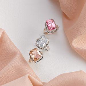 pink & ice octagon