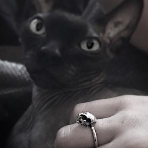 Hallow Kitty Ring