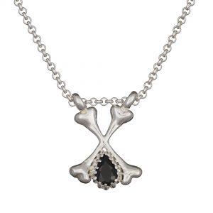 crossbones pendant
