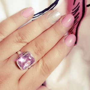 pink octagon