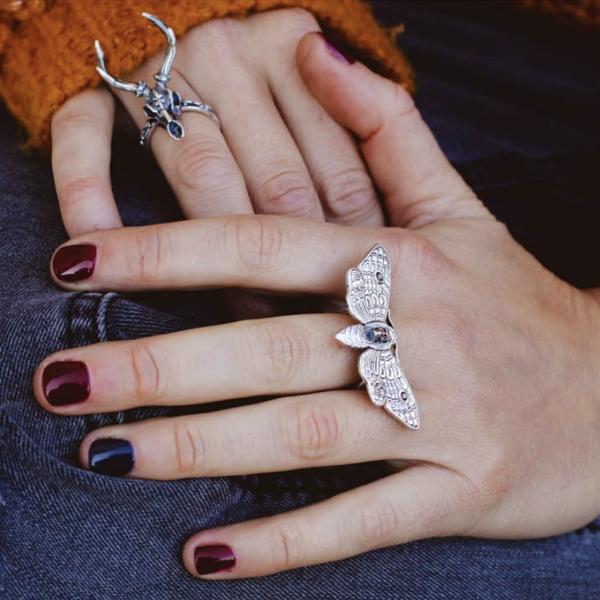 moth ring