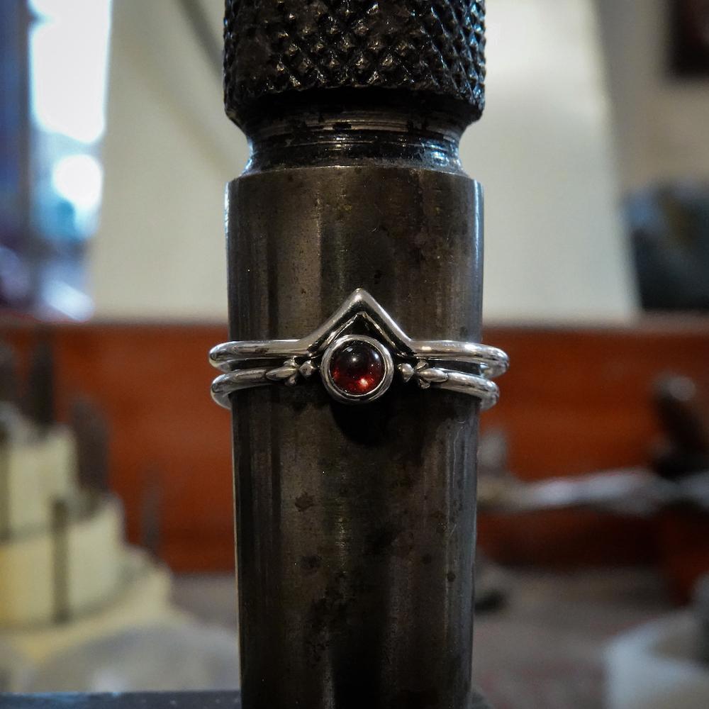 garnet stacking rings