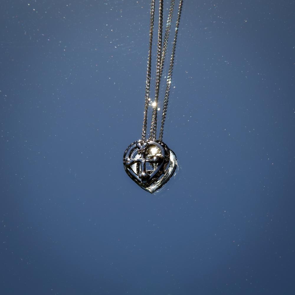 Heart Bone Necklace