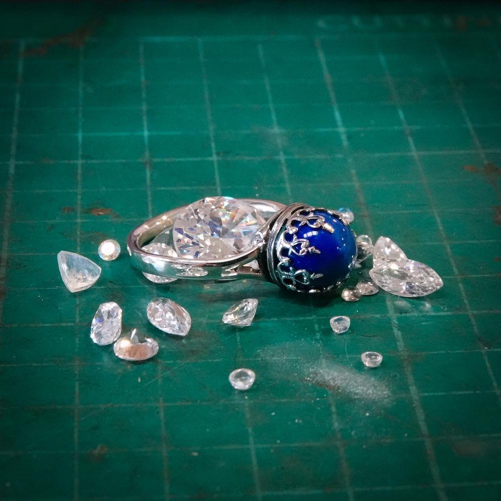 Blue Lapis Ring